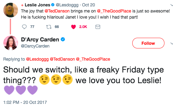 Can we get Leslie Jones as the Bad Place Janet? PLEASE?!