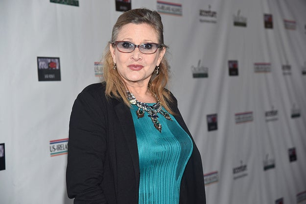 Saturday, October 21st, was Hollywood icon Carrie Fisher's 61st birthday.
