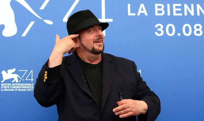 Director James Toback at the 74th Venice Film Festival in 2017.