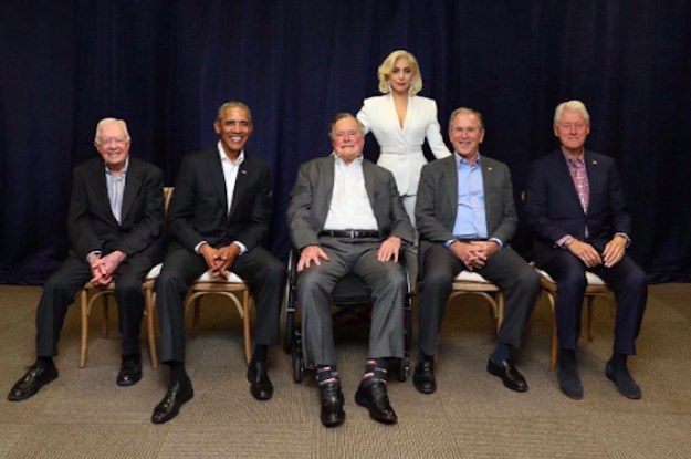 Lady Gaga Posed With Five Former Presidents And I'm Framing The Photo RN