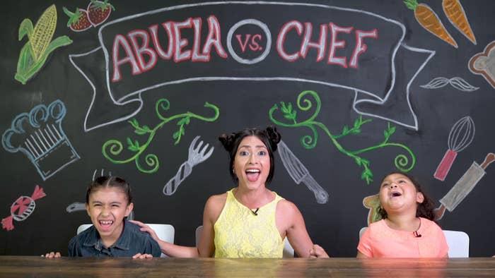 El reto en el que una abuela y un chef se enfrentan para ver quién puede ganarse los corazones de los niños... a través del estómago.