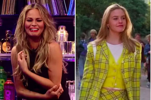 Chrissy Teigen Is Totally Bugging Over Meeting Alicia Silverstone And There Are Adorable Pics To Prove It