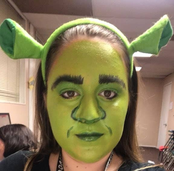 "The teen said that the first thing she thought of was how she was going to address the looking-like-an-ogre situation. ""I don't even know what to say to him to make him realize that I'm not like — crazy,"" she said. Although she prepped her explanation, the high schooler said that the officer never asked her about the Shrek look. Haylee described being pulled over in that makeup as the ""worst-case scenario."" She said that the officer was ""startled"" by her face. BuzzFeed News has reached out to the Corona Police Department for comment."