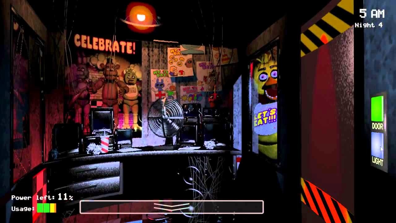 Why it's scary: Five Nights At Freddy's puts you in the role of a overnight security guard at a pizza restaurant. You've been instructed to keep a watchful eye on the life-sized animatronic animals who roam freely around the restaurant... but the catch is they have been involved in a series of