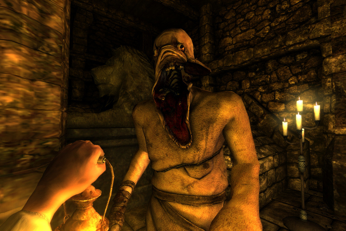 Why it's scary: You play as Daniel, an archaeologist who finds himself helpless, unarmed, and alone in a desolate castle with no memory of his past. Under the guidance of a letter, you attempt to escape both the mad castle and the shadowy figures that stalk its hallways. There's a catch though – to survive you must hide from the monsters, and to hide you must remain in the safety of darkness. But it's in the darkness where Daniel begins to lose his sanity resulting in his perception of reality becoming blurred.Scare rating: 💀💀💀💀/5Available on: PC and PS4.