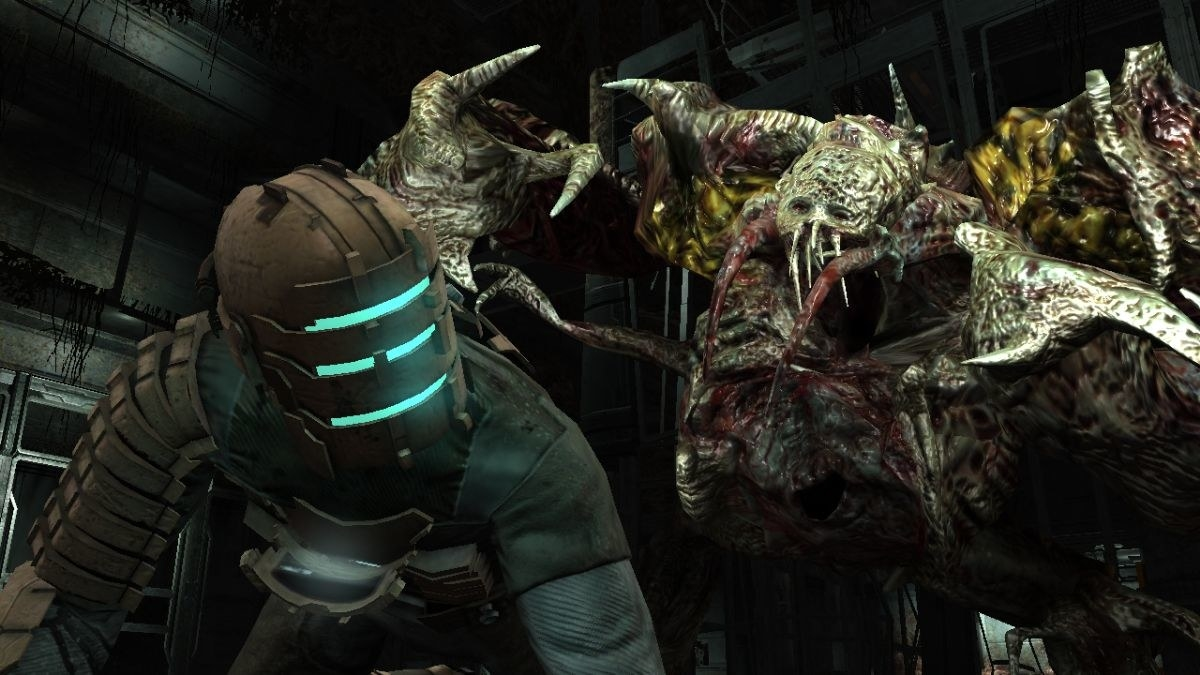 Why it's scary: In Dead Space you play as Isaac Clarke, a systems engineer tasked with fighting his way through a mining ship infested with gruesome, alien zombies known as necromorphs. Although you're equipped with a whole host of weapons including a flamethrower, machine gun, sniper rifle, and mining saw, they become slightly pointless when most of the ship is cloaked in darkness. That wouldn't be a problem if it weren't for the unpredictable nature of the necromorphs, who appear around corners, crash through windows, and crawl across the ceilings.Scare rating: 💀💀💀💀/5Available on: PC, Xbox 360, PS3, Android, and iOS.