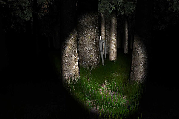 Why it's scary: In Slender: The Eight Pages, your only objective is to collect eight manuscripts about the Slender Man, a paranormal creature based on the Internet folklore surrounding it. Depicted as a tall man wearing all black with no facial features, the Slender Man is said to be responsible for countless abductions of children. Although the game is simplistic, the isolating atmosphere it creates as you fumble your way through the forest under torchlight is super eerie. There is complete silence too, until a loud piano slamming noise and/or static on the screen signals the appearance of Slender Man.Scare rating: 💀💀💀💀/5Available on: PC