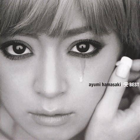 20〜30代はみんな知ってる(?)浜崎あゆみさんのCDジャケットです。すっと右目から涙が……。