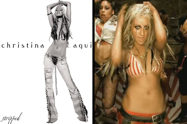"""It's Been 15 Years Since Christina Aguilera Released """"Stripped"""" And It's Still Damn Iconic"""