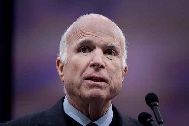 "John McCain Takes A Swipe At Trump For Avoiding Vietnam With ""Bone Spurs"" Deferments"