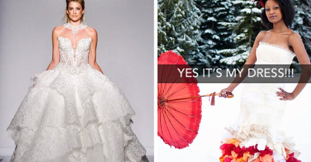 Rate A Bunch Of Wedding Dresses To Find Out When Youll Get Engaged
