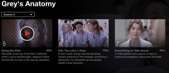 greys anatomy season 2 episode 12 music
