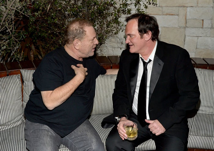 """Last week, in a lengthy interview with the New York Times, Quentin Tarantino spoke about his regrets in not taking a stand against Weinstein throughout their many years working together. """"I wish I had taken responsibility for what I heard,"""" Tarantino said of the longstanding rumors around Weinstein."""