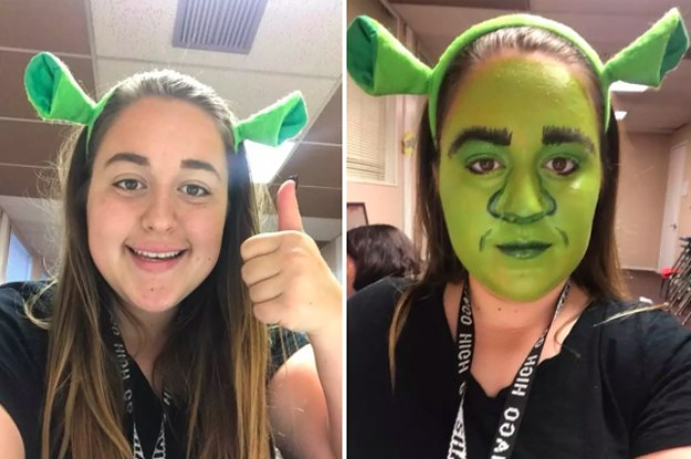 People Are Making All The Jokes After This Teen Was Pulled Over While Dressed As Shrek