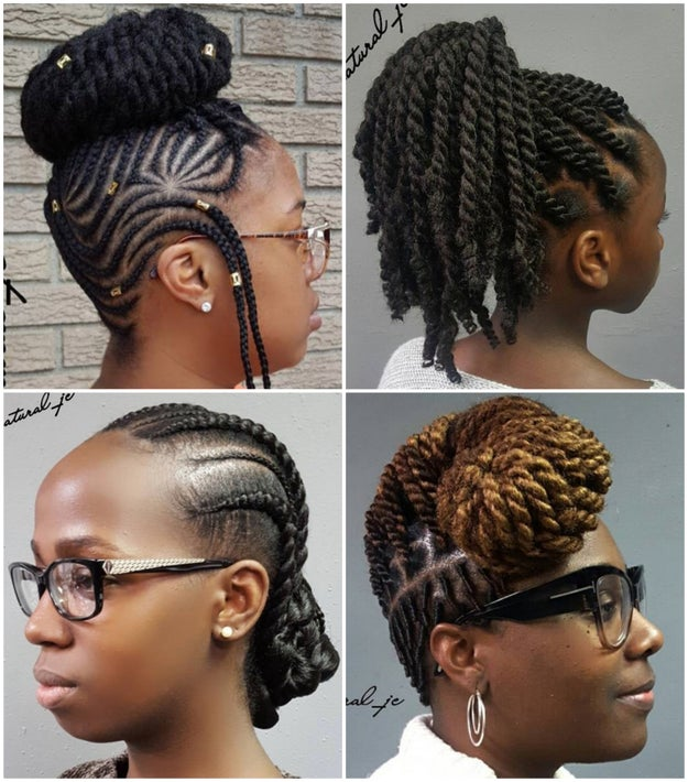 She can do lots of styles, but it's her gorgeous protective styles that keep clients (like me!) coming back for more.
