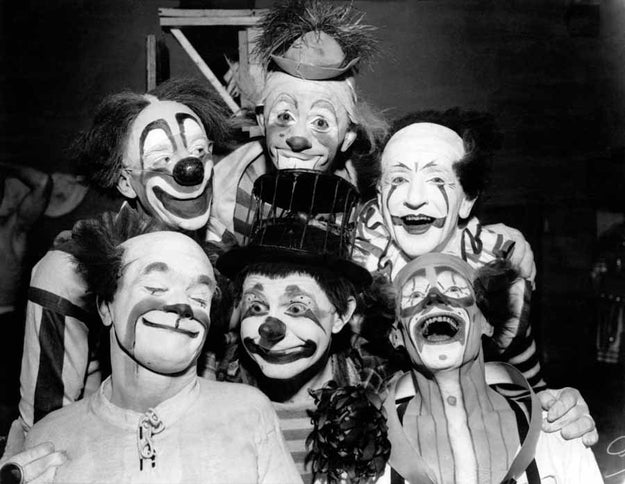 What's worse than one clown? A BEVY OF CLOWNS.