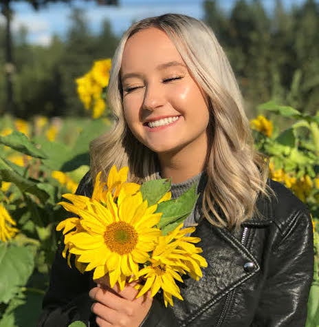 Jade Zanatta, 18, is a student at the University of Victoria, and a pro and proponent of wearing fake eyelashes.