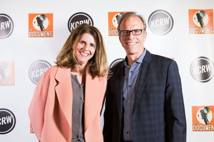 Filmmaker Amy Ziering and Kirby Dick.