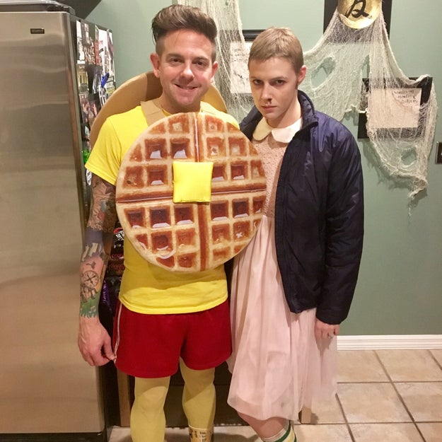 And whilst we're on cosplay – this perfect idea for couples this Halloween.