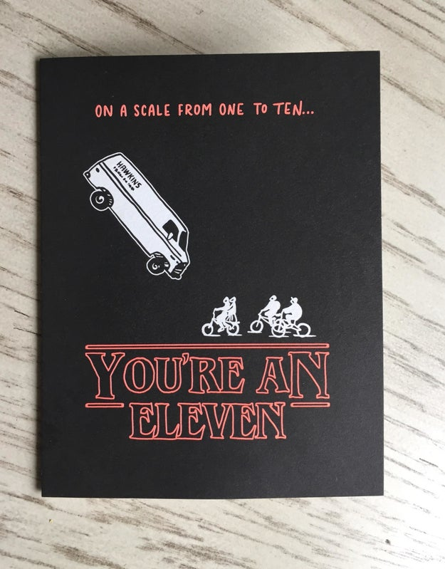 The only Valentine's day card you could ever want.