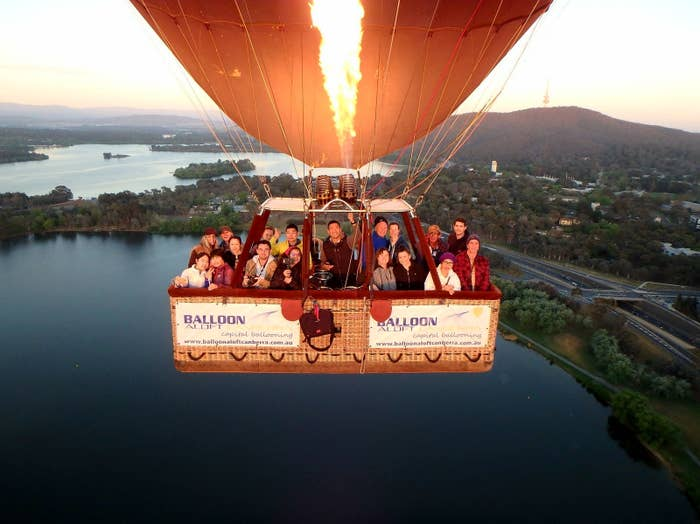 OK, so this is a little more luxe and pricey than the other activites, but you will not be disappointed. Weather permitting, this is by far the best way to take in the sights of Canberra, and don't stress if you fear heights, because the ride is so smooth you'll feel like you're floating on air. The sun rising over the surrounding ranges and reflecting onto Lake Burley Griffin is just beautiful. I promise the exhaustion of waking up so early to be there quickly dissolves. Plus, a glass of champers at the end isn't all bad. More info here.