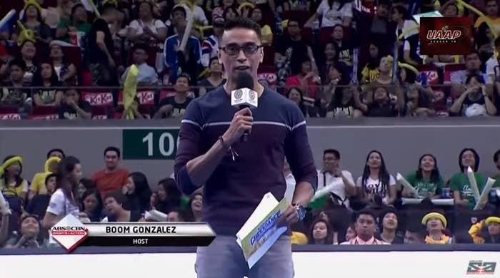 Nasanay tayo na siya ang host.