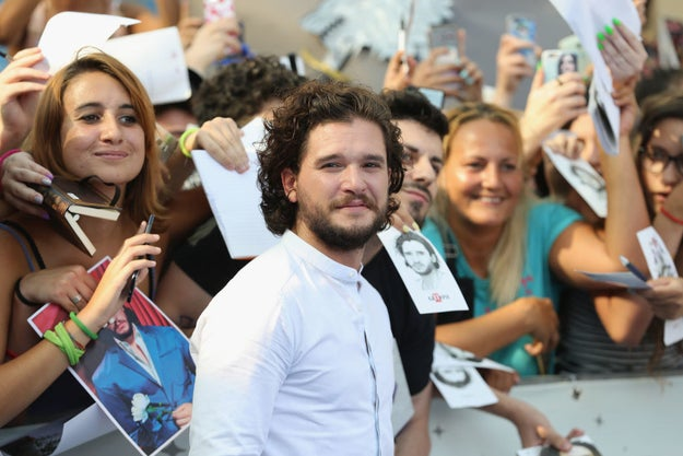 """So, last year, Kit Harington did an interview where he talked about his personal experiences with, what he called, """"sexism"""" in Hollywood."""