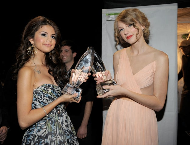 ...but then, *DRAMA NOISES* Selena began to hang out with Taylor Swift...
