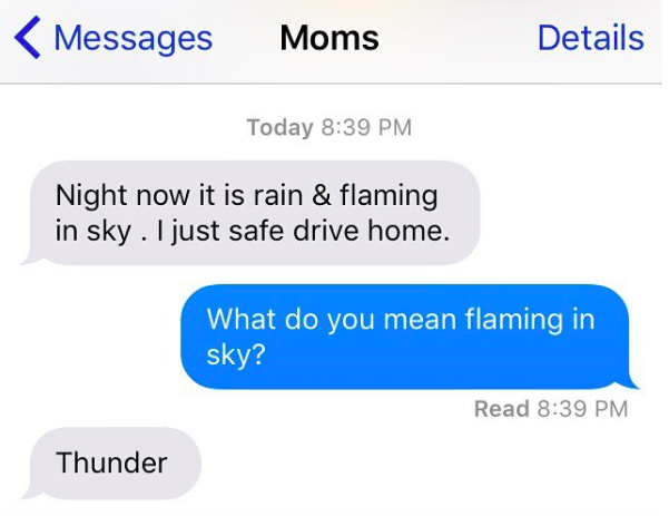 This mom, who knows what she's talking about.