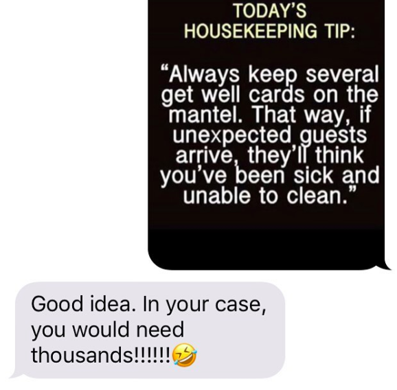 This mom, who delivered a sick burn.
