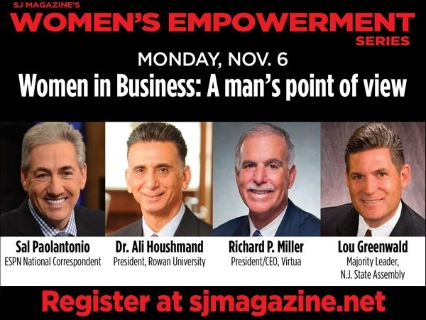 A New Jersey magazine has cancelled an upcoming all-male panel at its women's empowerment convention after the event was mercilessly trolled on Twitter.