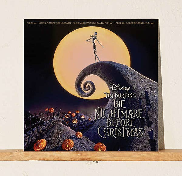 A two-disc vinyl of the Nightmare Before the Christmas soundtrack for both Christmas and Halloween listening.
