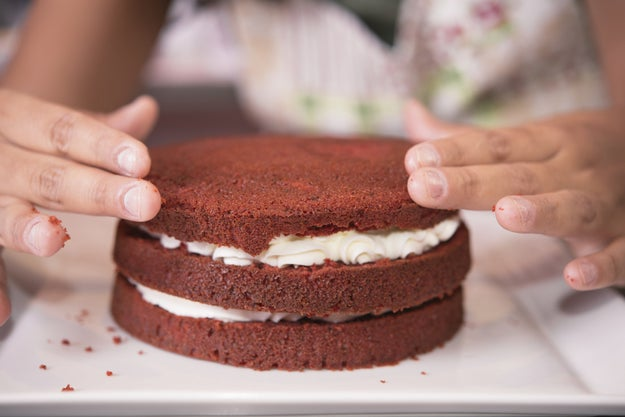 When baking vegan cakes, ditch the egg replacers and use a recipe designed to be baked without 'em.