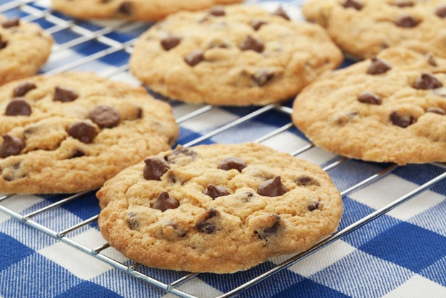 For perfectly shaped cookies, bring your dough to room temperature before baking.