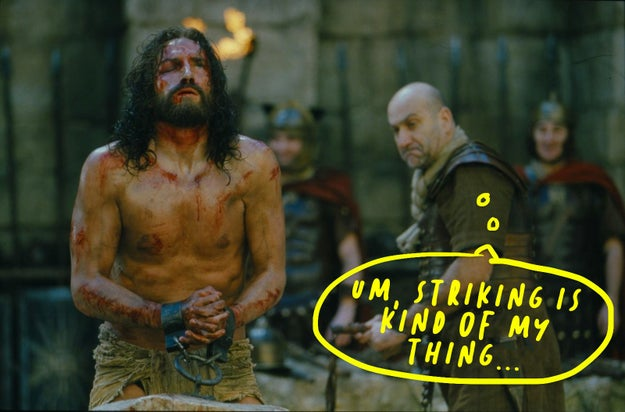 During filming of The Passion of the Christ, Jim Caviezel was struck by lightning.