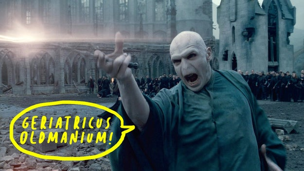 When Voldemort died during the Battle of Hogwarts, he was actually meant to be 71 years old.