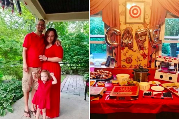 This 3YearOld Asked For An Epic TargetThemed Birthday Party And