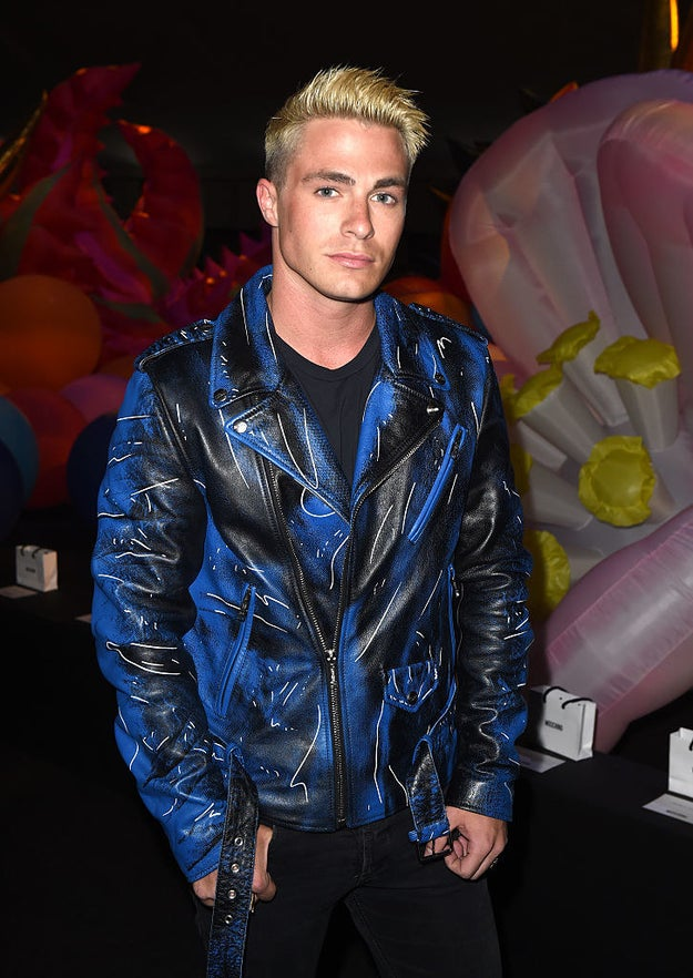 Everyone knows Colton Haynes is basically the President of Halloween...if such an office existed.