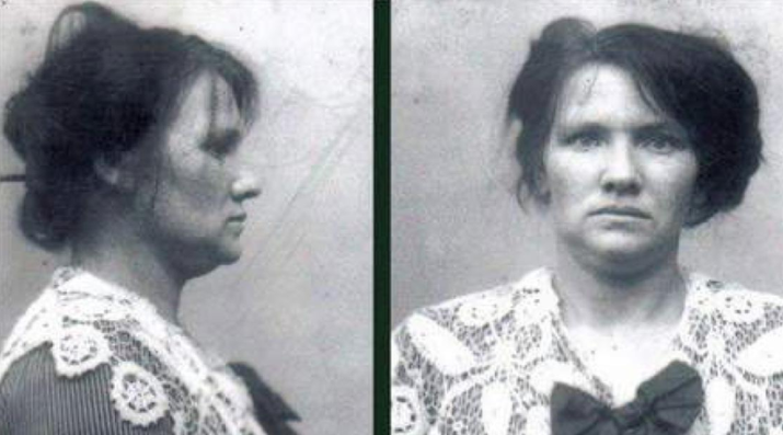 The Danish professional child caretaker killed up to 25 babies by strangulation, burning, or drowning between the years of 1913 and 1920 — and one of her victims was her own child. She died in prison at the age of 42. —sarak4