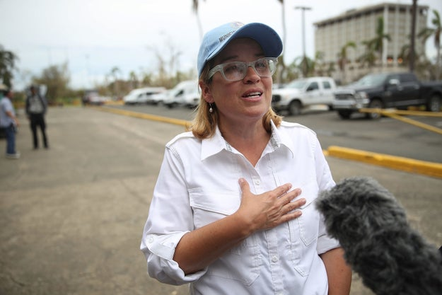 """San Juan Mayor Carmen Yulin Cruz on Tuesday told Yahoo News she found the deal """"alarming"""" and called for it to be scrapped."""