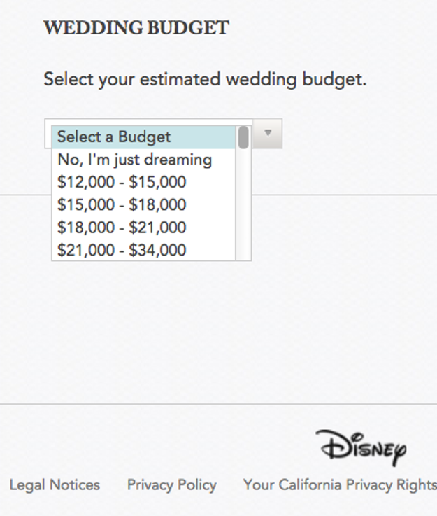You can have a Disney wedding on a budget. Sort of.