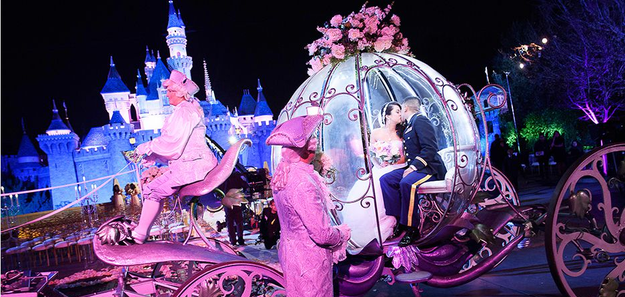 And yes, you can totally ride in Cinderella's coach. But it'll cost ya.