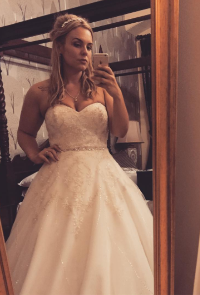 You can wear an actual princess dress. Swoon!