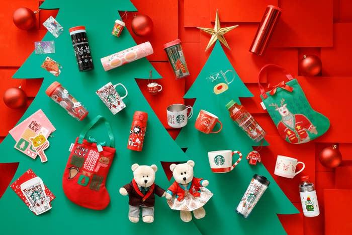 スターバックス・コーヒー・ジャパンは今年も11月1日(水)からホリデーシーズンを開始します。今年は「GIVE GOOD」をテーマに、季節限定ドリンクやグッズを販売予定。