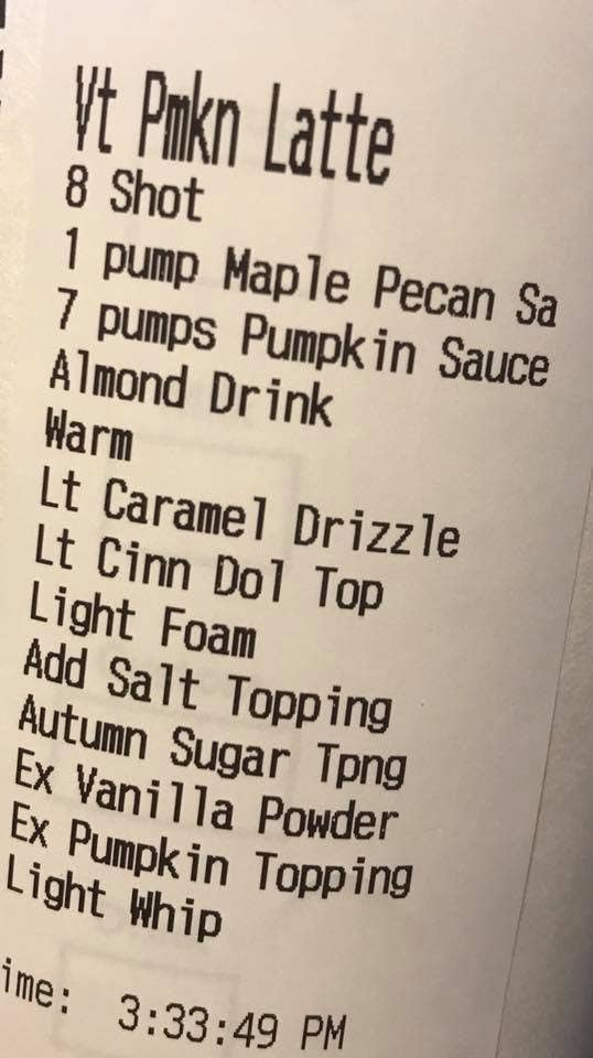 """15 Drink Orders From Starbucks That Will Make You Ask, """"Are These Customers Okay?"""""""