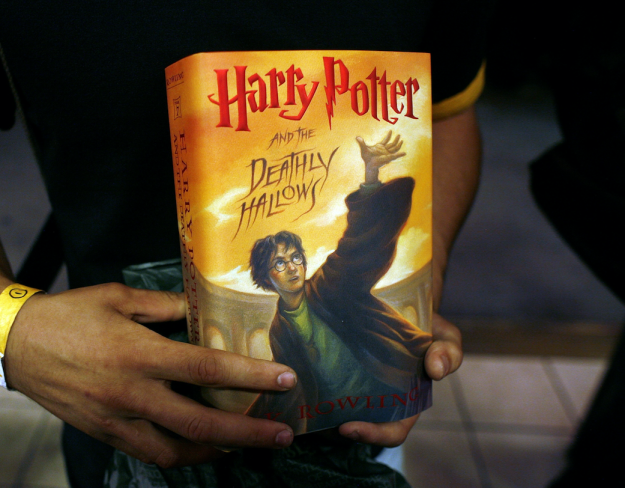 Ten years ago was also when the last book in the Harry Potter series, Harry Potter and the Deathly Hallows, was published.
