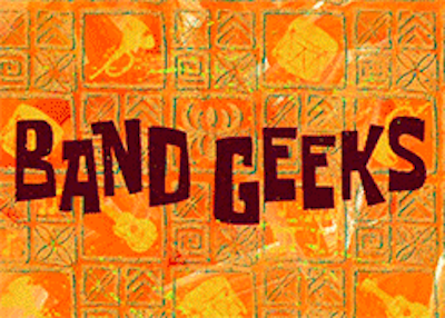 """It has also been 16 years since SpongeBob SquarePants first aired its iconic """"Band Geeks"""" episode."""