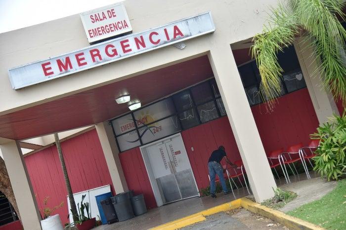 The Dorado Medical Center, in Dorado, Puerto Rico, on September 30.