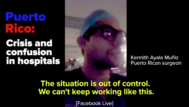In this video, BuzzFeed News spoke to several doctors and nurses who said they didn't have basic supplies.