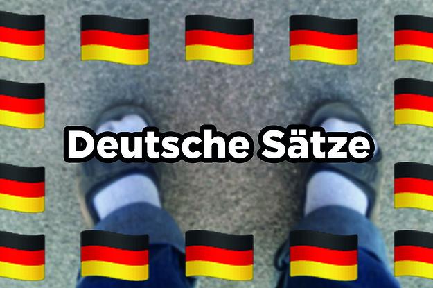 42 deutsche Sätze, die jeden verwirren, der nicht deutsch ist